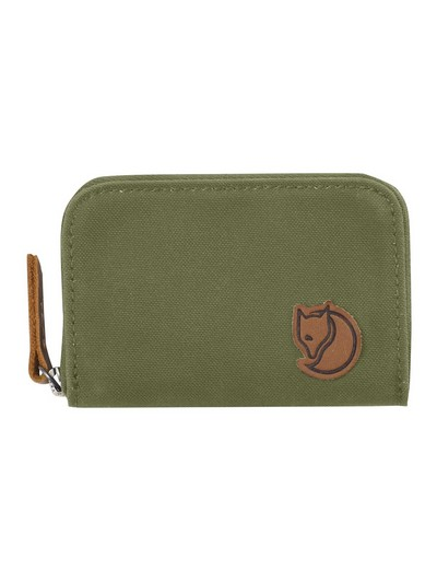 Кошелек FJALLRAVEN Zip Card Holder Green фото