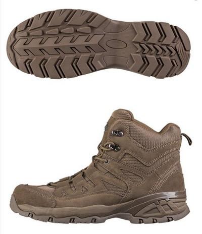 Mil-Tec Squad Boots Brown Взуття тактичне EU43 фото