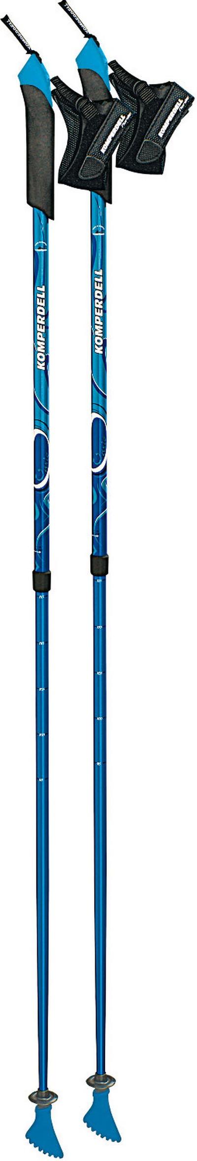 Палки для скандинавской ходьбы Komperdell Spirit Vario blue фото