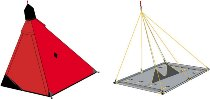 Палатка стенная Баск BASK-2 PLATFORM #4034 Bask (Баск)