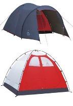 Четырехместная палатка Capm - Nagoa 4 Plus серии Family. Camp