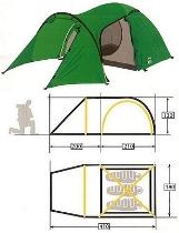Палатка KSL Cherokee 3  KSL