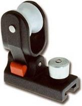 Каретка стаксель шкота для погона 18 мм